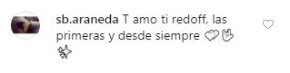 Comentario sobre gotas REDOFF: Te amo a ti REDOFF, las primeras y desde siempre